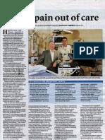 Managing pain - Sydney Morning Herald