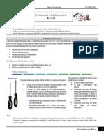 Herramientas e instrumentos de medicion