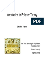 Introduction Polymer Theory