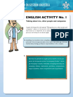 Instrucciones English Activity 1