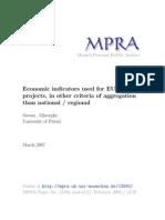 MPRA Paper 13560