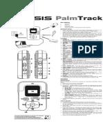 Alesis Palmtrack Manual