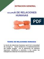 2.1 Teoria de Las Relaciones Humanas