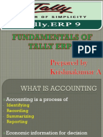 Tally Erp p for Non Accounts