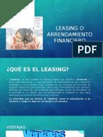 Leasing o Arrendamiento Financiero (1)