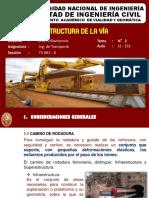 Estructura de La Vía