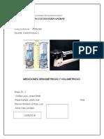 Mediciones gravimetricas y volumetricas
