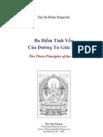 Ba diem tinh yeu cua duong tu giac ngo -Ribur Rinpoche