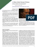 Le Guerrier Ultime Entretien Avec Robert Duncan O Finioan Novembre 2006