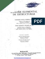 Análisis Elemental de Estructuras, 2da Edición - Charles Head Norris