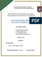P1 EVALUACIÓN DEL CIERRE PLANTAS FRUTAS Y HORTALIZAS