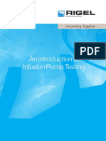 Rigel Medical Guide to Infusion Pump Testing Us v1