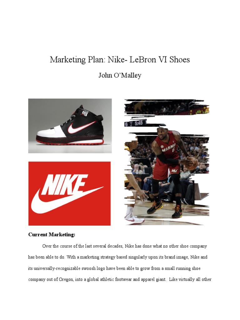 Marketing Plan: Nike Nike Adidas