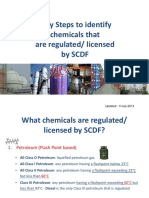 Easy Step to identify chemicals