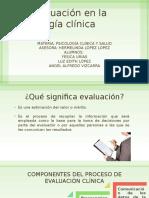 La evaluación en la Psicología clínica.pptx