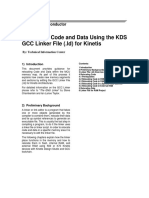 Relocating Code and Data Using the KDS GCC Linker File for Kinetis