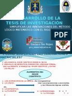 EL DESARROLLO DE LA TESIS DE INVESTIGACIÓN - copia.pptx