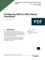 Configuring USB on i.mx 6 Series