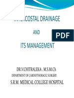 intercostal drainage