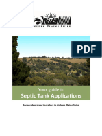 2013-2014 Septic Tank Information Pack and Form - Version 5-1