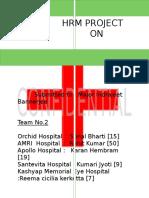 Human Resource Policies of Hospital