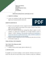Propuesta Pedagógica TICS_ Angie Cardozo_ Loriane Sandoval