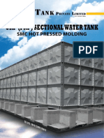 sectional panel tank