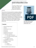 Electrical Equipment in Hazardous Areas - Wikipedia, The Free Encyclopedia