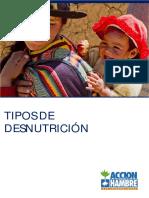 Tipos de Desnutrición -Acción contra el hambre