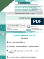 Idrovia - progetto Regione Veneto 31.03.2016
