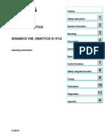 SINAMICS V90 Operating Instructions 012015 en-US