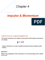 Chapter 4_Impulse and Momentum