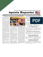 June 1 - 7, 2016  Sports Reporter