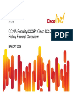 Cisco IOS Zone-Based Policy Firewall Overview