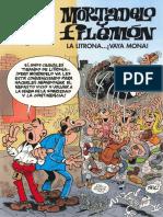 Mortadelo y Filemon #198 La Litrona... ¡Vaya Mona!