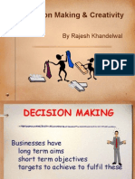 Presentation of Decision Making