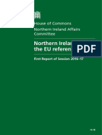 REPORT - Northern Ireland and the EU Referendum