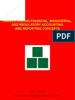 Understanding Financial, Managerial, and Regulatory Accounting and Reporting Concepts