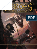 Heroes Against Darkness - Game Rules - Plain