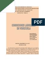 Condiciones Laborales en Venezuela