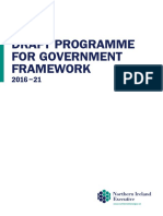 Draft Programme for Government Framework (2016-2021)