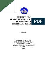 Sejarah Kurikulum PLB