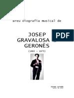 Breu Biografia Musical de JOSEP GRAVALOSA i GERONÈS (Josep Loredo)