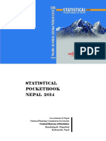 Statistical Pocket Book 2014
