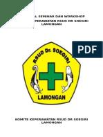 Proposal Seminar Komper Rsud Dr Soegiri Lamongan