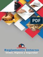 Reglamento Interno de Orden Higiene y seguridad Empresa SODIMAC 2016