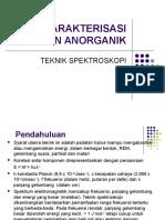 Teknik Spektroskopi