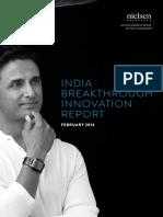 India Breakthrough Innovation Report