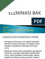 Sistem Eliminasi Urin