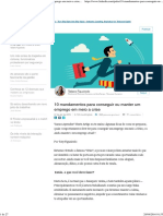 10 Mandamentos Para Conseguir Ou Manter Um Emprego Em Meio a Crise _ Tatiane Figueiredo _ LinkedIn